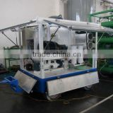 Transformer oils purification system machine with double axle trailer