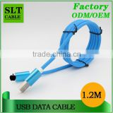 SLT Stripe design cell phone charging cable for iphone 5 5s 6 6s                                                                         Quality Choice