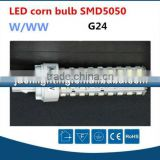 Modern new type smd3528 14 Watts corn bulb led light, 14W led 180degree corn light g24 e27