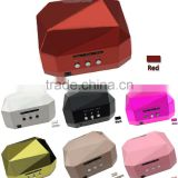 36W LED uv Lamp Diamond Shaped Long Life nail dryer