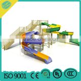water park plastic slide,water park equipment,water park playground