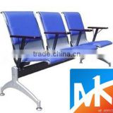 cheap modern high quality metal purple blue waiting room chairs to sale