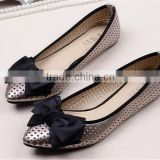 Multifunctional ladies elegant flat shoes european women casual shoes for wholesales XT-DA0908