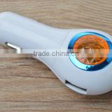 new 3 in 1 jewel usb car charger with LED light