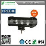 2014 Lightstorm new product 40w led light bar ,cree 40w 8inch led light bar,offroad LED driving light bars
