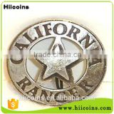 Factory direct selling fancy metal pin badges wholesa security badges and custom army badges