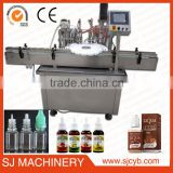 CE certification full auto e liquid filling machine,30ml electric cigarette filling machine