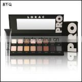 Top Sale Professional Lorac PRO Palette 16 Color Eyeshadow with Eye Primer Luminous Eye Shadow Palette Band Makeup Cosmetics