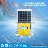 EverExceed Portable solar power system to generate electricity for home with built-in Radio