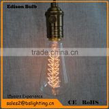 Aluminum retro style Antique Brass single lamp Pendant Light with ST64 Edison Bulb                                                                         Quality Choice