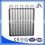 2016 Popular Design Black Aluminum Fence