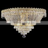 Modern Design Crystal Chandelier Lamp LED Ceiling Light Fixture for Home Decor and Wedding Decoration CZ7312G/500