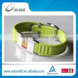 alibaba wholesale in Japan silicone energy bracelet, health titanium germanium negative ion bracelet made in CHINA