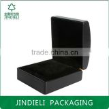 beauty arc classical black leather jewelry box packaging