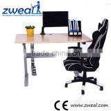 school desk with bench factory wholesale