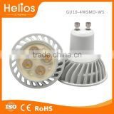 fast delivery warm white/ natual white/pure white 5w gu10 led adjustable led with NXP driver gu10 led dimmable