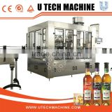 3-in-1 washing,filling and sealing glass bottle wine making machine