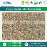 Delicately Processed 100% Organic and Roasted Hulled Sesame Seeds for Garnishes and Salad Dressings