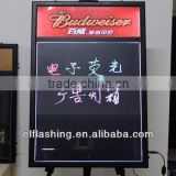 sparkle led writing board fluorescent led writing board