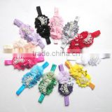 Bow Head Accessories, Shine Crown Princess Headband,Flower Headband, Elastic Rope Headband, Girl Accessories