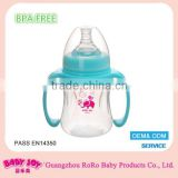 China manufacturer low price BPA free durable pp material cute funny baby feeding bottle wholesale