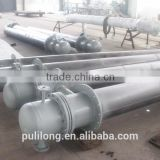 high quality stainless steel bladder tank with ASME certificate/hot gas to air heat exchanger