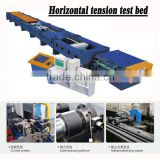 Best Quality! Horizontal tensile test machine/ wire rope testing bed/ hydraulic test bench for sale 100T 200T 300T