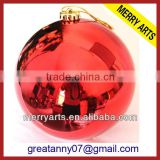 Alibaba express china wholesale large decorating red christmas big balls giant christmas decoration ball