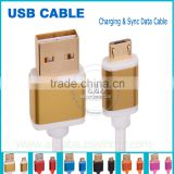 2015 christmas present souvenir quick charge 2.0 multi charger micro usb reversible cable