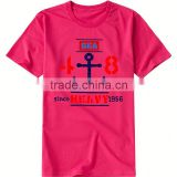 customized design cheap wholesale colorful logo men t shirt size chart high quality hot selling