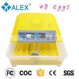 Plastic incubator egg tray chicken egg incubator machine mini egg incubator best price incubation 48