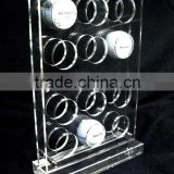 Acrylic 12- Golf Balls Display Stand/Holder/Rack/Case