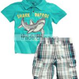 Baby Clothing Sets Kids Clothes Children Casual Cotton T-Shirt Pants Boys                                                                         Quality Choice
