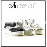 canvas shoe women lace up brogue shoes high top sneakers