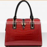 Ebay hot selling Womens's Genuine Leather Tote Bags Designer Shoulder Bags Top Handle Handbags for Ladies