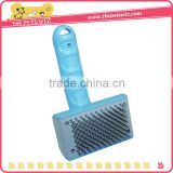 Pet Dog Cat Grooming Self Cleaning Slicker Hair Fur Brush Comb Shedding Tool