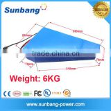 Triangle shape 18650 lithium battery 48v 20ah for 1000W ebike                                                                                                         Supplier's Choice