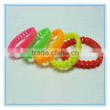 colorful silicone cool bracelet for guy