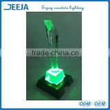 Remote Control RGB Color Smart Glass Trophy Display Led Table Lamp