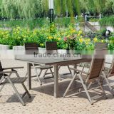 Outdoor furniture plastic dinning set, outdoor furniture,used folding table and chairs wholesale
