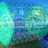 Hot selling commercial PVC/TPU water shinning walking roller,water roller ball, shinning ball