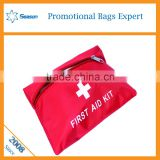 Red Medical Emergency Bag First Aid kit bags pouch