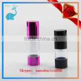 Chinese Acrylic Airless Pump Jar for bottle airless bottle cosmetic container jar sserum