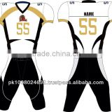 100% polyester custom american football uniform