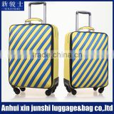 "20"" 22"" Good Design PVC Bag Travel Trolley Luggage Suitcase With PVC Luggage Tag"