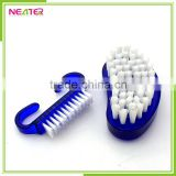 fashional and easy carry design plastic nail brush sets
