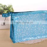 High-end Customized Zipper Mesh Cosmetic Bag,Transparent Travel Pouch Mesh