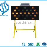Portable Variable Message Sign With Speed Radar,Traffic Solar Led Message Board,Solar Powered Led Signs