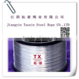 stainless, galvanized steel wire rope sling for crane, price of steel wire rope for fitness equipment