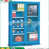 Taiwan Steel Storage Shelves Cabinets With Glass Doors For Garage Factory TJG-CW12
